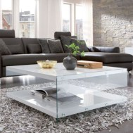 Awesome Glass Coffee Tables Ideas For Small Living Room Design07