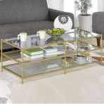 Awesome Glass Coffee Tables Ideas For Small Living Room Design18