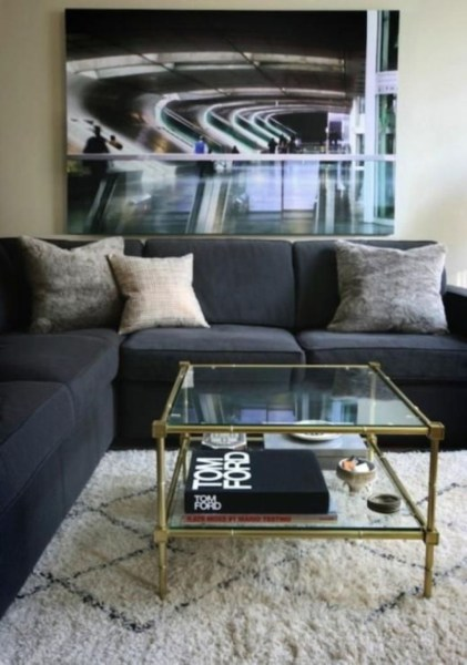 Awesome Glass Coffee Tables Ideas For Small Living Room Design19
