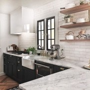 Best Ideas For Black Cabinets In Kitchen02