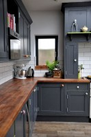 Best Ideas For Black Cabinets In Kitchen09