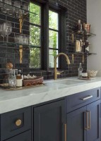 Best Ideas For Black Cabinets In Kitchen10