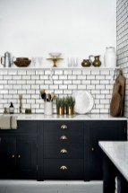 Best Ideas For Black Cabinets In Kitchen41