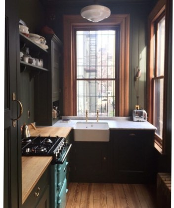 Best Ideas For Black Cabinets In Kitchen47