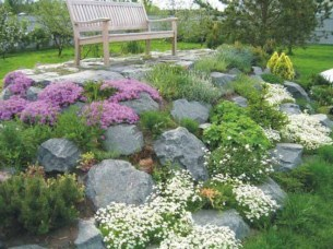 Creative Rock Garden Ideas For Your Backyard12