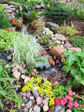 Creative Rock Garden Ideas For Your Backyard32