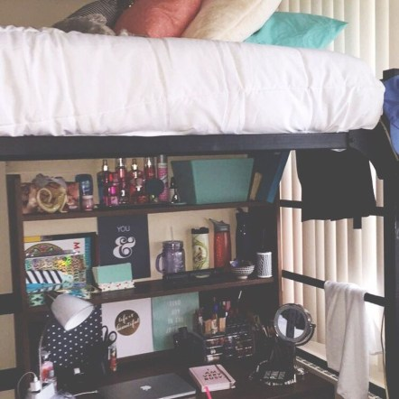 Efficient Dorm Room Organization Ideas That Inspire06