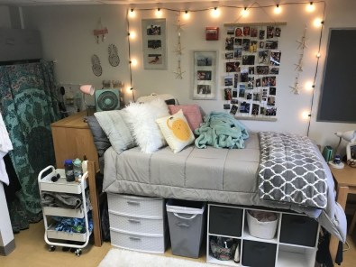 Efficient Dorm Room Organization Ideas That Inspire13