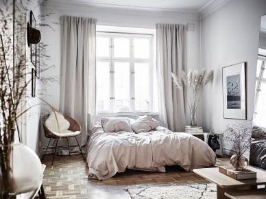 Inspiring Scandinavian Bedroom Design Ideas38