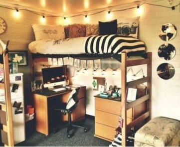 Totally Inspiring Dorm Room Ideas For Your Inspirations29