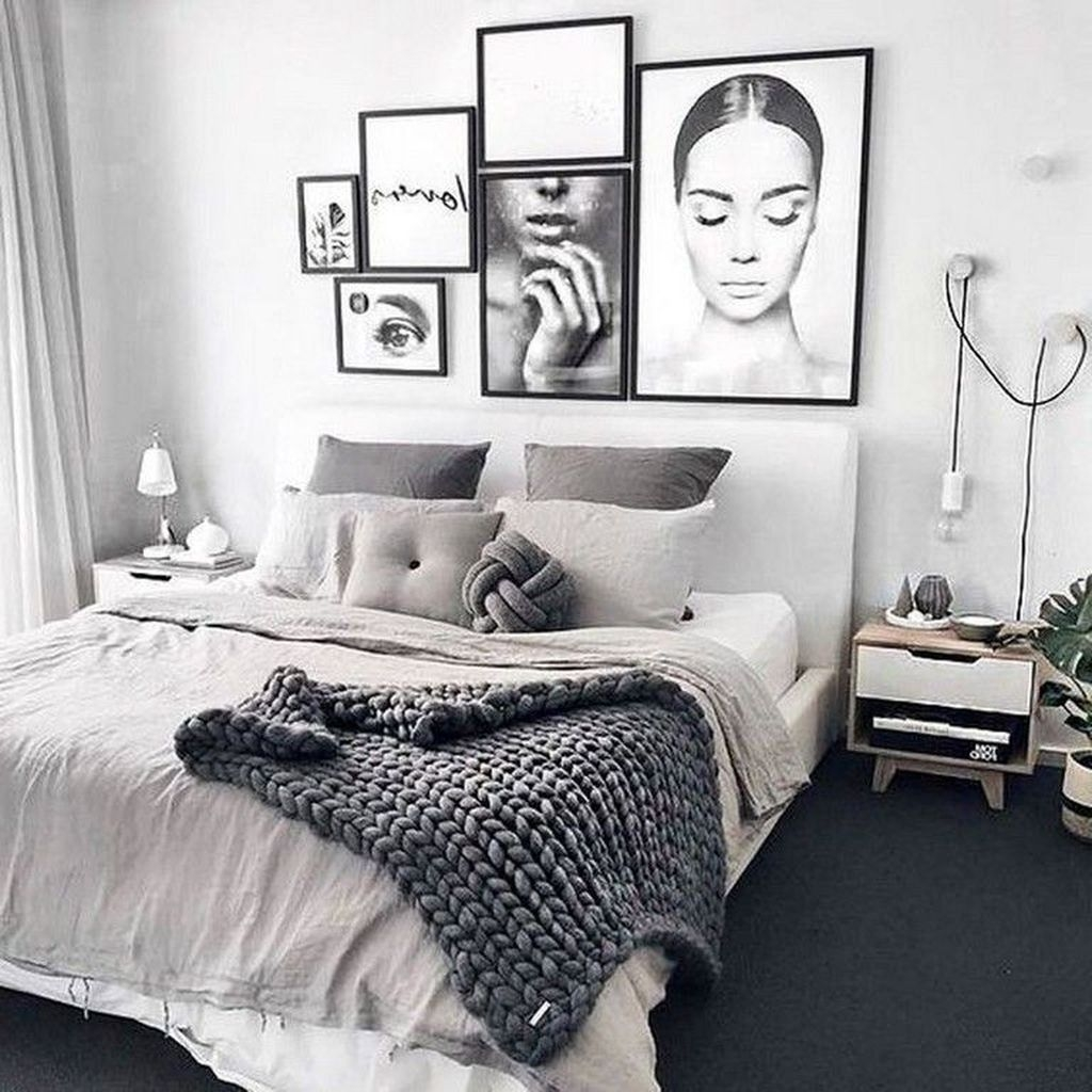 Awesome Modern Scandinavian Bedroom Design And Decor Ideas35