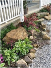 Cool Front Yard Rock Garden Ideas40