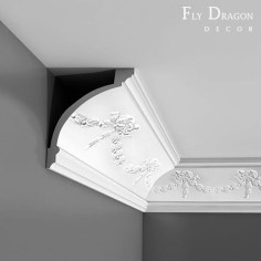 Fascinating Flying Crown Molding Ideas32