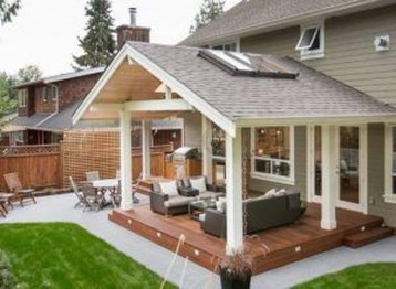 Modern Fresh Backyard Patio Ideas07