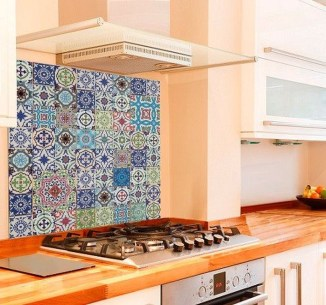 Popular Summer Kitchen Backsplash Ideas15