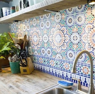 Popular Summer Kitchen Backsplash Ideas31