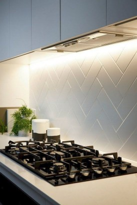 Popular Summer Kitchen Backsplash Ideas39