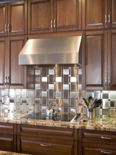 Popular Summer Kitchen Backsplash Ideas41