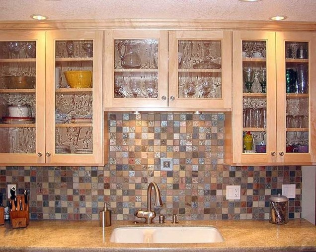 Popular Summer Kitchen Backsplash Ideas42