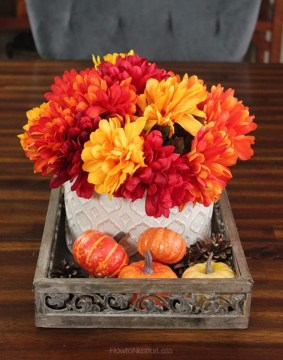 Unique Fall Wedding Decor On A Budget23
