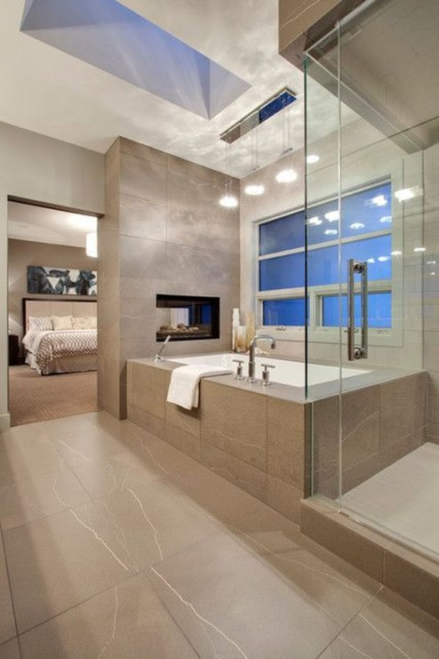 Inspiring Master Bathroom Decor And Design Ideas09