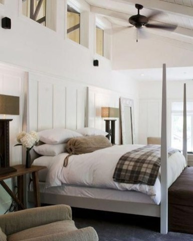 Marvelous Farmhouse Bedroom For Your House Design Ideas03