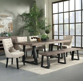 Perfect Farmhouse Dining Room Makeover Ideas23