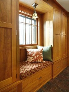 Stunning Window Seat Ideas With Padded Seat And Storage Below08