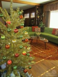 Awesome Vintage Christmas Living Room Decoration Ideas05