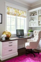 Comfy Home Office Design Ideas For Small Apartment18