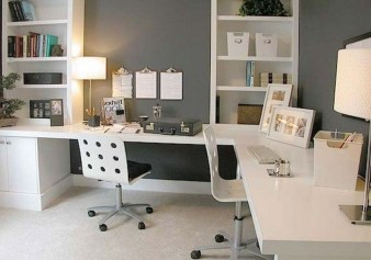 Comfy Home Office Design Ideas For Small Apartment47