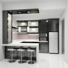 Cozy Small Modern Kitchen Design Ideas26