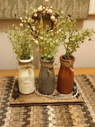 Cute Vintage Winter Table Decoration Ideas13