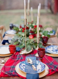 Cute Vintage Winter Table Decoration Ideas41