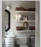 Easy Ideas For Functional Decoration Of Small Bathroom09