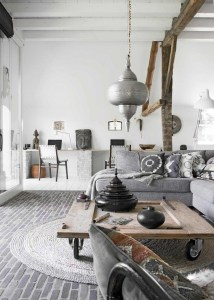 Impressive Bohemian Farmhouse Decorating Ideas For Your Living Room21