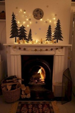 Incredible Christmas Mantel Decorating Ideas Budget08