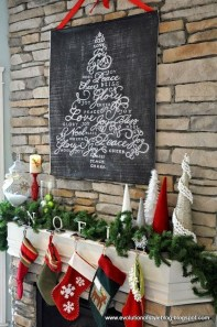 Incredible Christmas Mantel Decorating Ideas Budget42