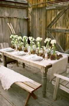 Inexpensive Diy Outdoor Winter Table Decoration Ideas44