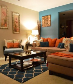 Unordinary Living Room Designs Ideas With Combinations Of Brown Color08