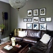 Unordinary Living Room Designs Ideas With Combinations Of Brown Color10