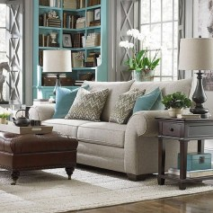 Unordinary Living Room Designs Ideas With Combinations Of Brown Color14