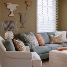 Unordinary Living Room Designs Ideas With Combinations Of Brown Color25