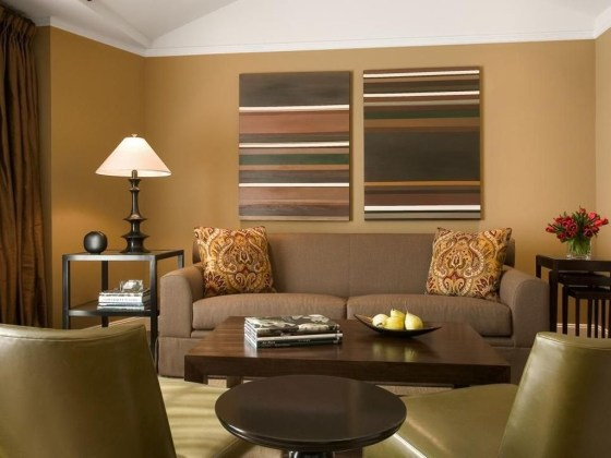 Unordinary Living Room Designs Ideas With Combinations Of Brown Color30