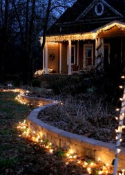 Vintage Outdoor Winter Lights Decoration Ideas12