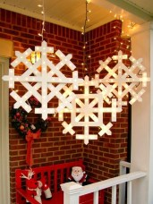Vintage Outdoor Winter Lights Decoration Ideas21