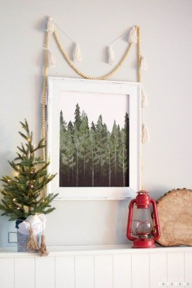 Amazing Diy Winter Home Decoration Ideas25