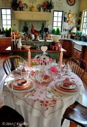 Creative Valentine Table Decoration Ideas13