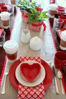Creative Valentine Table Decoration Ideas36