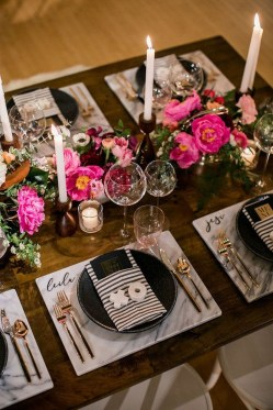 Elegant Table Settings Design Ideas For Valentines Day36
